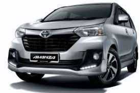 Toyota Avanza Matic for rent